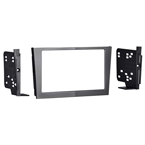 Metra 95-3107G Double DIN Installation Dash Kit for 2008 Saturn Astra (Gray)