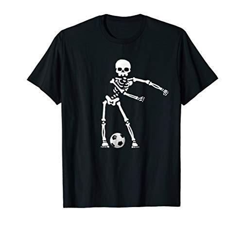 Skeleton Floss Dance Soccer Shirt Flossing Soccer Boys Girls ()