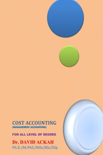 Cost Accounting: Management Accounting