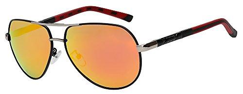 lens de calidad Vintage UV400 Gafas diseñador Mens gafas conducción mirror sol Retro gafas Blue de de marrón experimental lentes alta polarizadas de TIANLIANG04 gafas marca hombres sol FqwTpw8