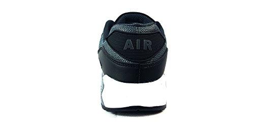 per stile e tessile Scarpe scarpe per passeggiare UK8 Black ideali EUR casual W da ragazzi unisex lacci da Grey corsa con palestra 43 i sportive Fibra usare in White chiusura tHAUH