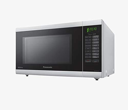 Panasonic NN-ST651W 32-Liter 1100-Watt Inverter Microwave Oven, 220V (Not for USA - European Cord), White by Panasonic