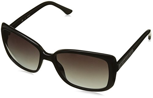 Guess Women's Gradient GU7336-BLK-35 Black Square - Guess Oversized Sunglasses
