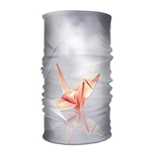 Magic Headwear Origami Paper Crane Art Outdoor Cycling Headbands Seamless Magic Kerchief