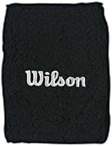 Wilson WR5600370 - Muñequera Unisex, Color Negro, Talla NS: Amazon ...