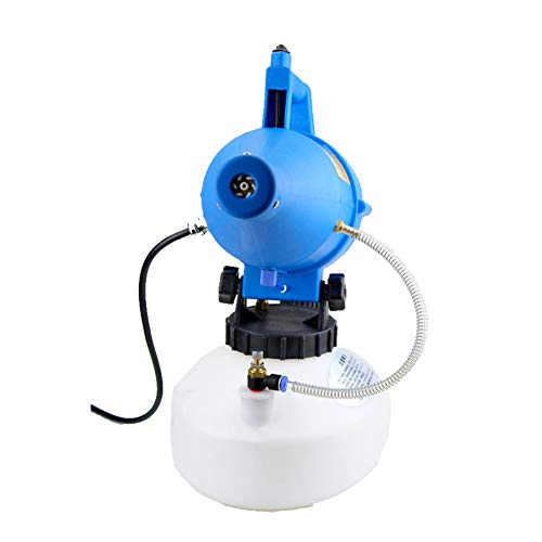YUI Intelligent Electric ULV Fogger Sprayer Mosquito Killer, Range 8-10 Meters Farm Office and Industrial, Spray Bottle Plastic Blue