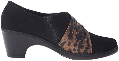 Black Leopard Ankle Brown Street Women's Bootie Northern Easy Matte wqTzgXw