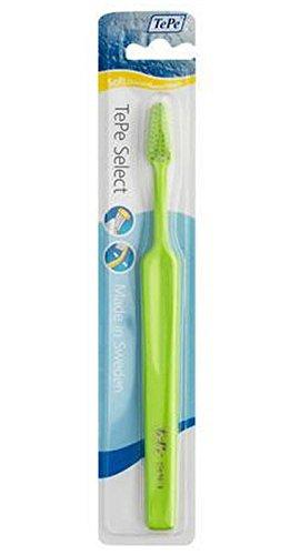 TePe cepillo de dientes Select Soft Blister – – Juego de 3 (modelo aleatorio)