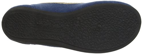 Damen Blue Blau Slipper Happy Padders 5YqSvn