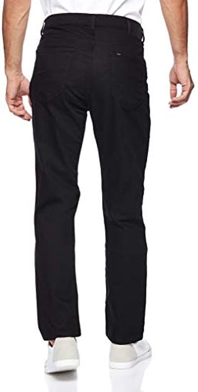 Lee Męskie Morton Straight Jeans: Odzież