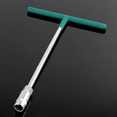 (Plug Socket - 5pcs/set T Shape Socket Spanner Outer Hex Hand Tool Torque Wrench L Shape Auto Maintenance Tools Herramientas)