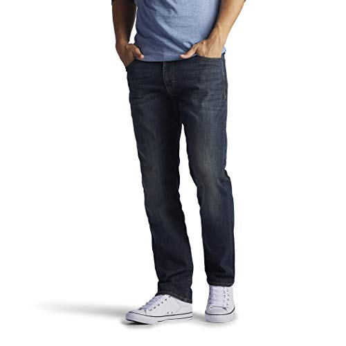 Lee Men's Modern Series Extreme Motion Straight Fit Tapered Leg Jean - 34W x 32LMaverick from LEE