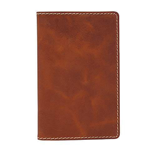 """Fossil Men's Notebook, Brown, 6""""L x .63""""W x 4""""H"""