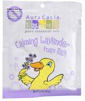 Aura Cacia Calming Foam Bath Lavender -- 2.5 oz