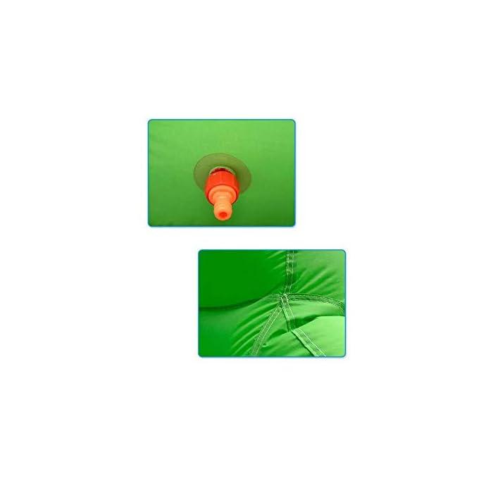 31CKK ZlEGL ● El material de alta calidad y fabricado por costura de grado comercial cumple con los requisitos de alquiler en algún grado, aunque es una casa de rebote residencial. ● Enorme área de juego que ofrece un gran espacio para acomodar a 16 niños de menos de 800 libras en total. colchón que da suficiente presión de aire, mejor capacidad de salto! ● Tamaño grande: 690x400x280cm, con tobogán, una gran área de rebote, dos obstáculos, un muro de escalada, ideal para una fiesta de cumpleaños, reunión familiar o para cualquier ocasión para mantener a los niños entretenidos mientras rebotan en el paseo lunar.