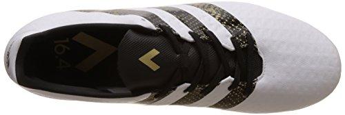 adidas Herren Ace 16.4 FxG Fußball-Trainingsschuhe Weiß (Ftwr White/Core Black/Gold Metallic)