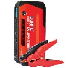 Durite 0-649-27 12v jump starter pack 600A 15, 000mAh portable power pack with 13 accessory connectors