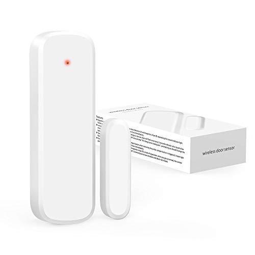 - Secrui D017 Add-On Door Contact Sensor Unit (No Receiver) - White