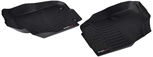 WeatherTech (445101 FloorLiner, Front, Black