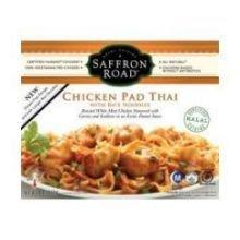 Saffron Rice Chicken (Saffron Road Pad Thai Chicken with Rice Noodles, 10 Ounce - 8 per case.)