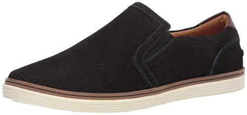 Donald J Pliner Men's TRAVIS2-03 Sneaker, Black, 10.5 D US