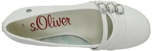 White Blanco Bailarinas Oliver Casual 100 Mujer s Blanco qzapxnw