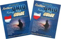 Ohio Fishing Map Book Guides Set - 2010 Editions