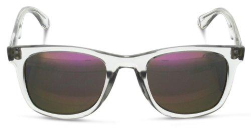 Rectangulares 6000 L Crystal Carrera Gafas Pink Transparente Unisex Multilayer de Sol gcnRHU