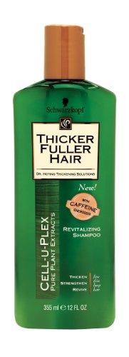 Épais Fuller cheveux Revitalisant Shampooing-12 oz