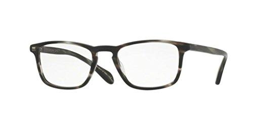 Oliver Peoples - Larrabee - 5005 48 - Eyeglasses (SEMI MATTE EBONYWOOD, ()
