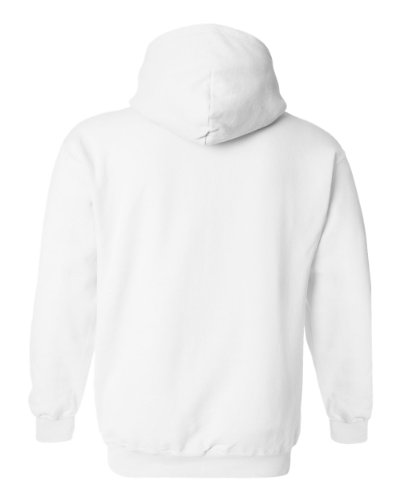 Price comparison product image Hooded Pullover Sweat Shirt Heavy Blend 50/50 - White 18500B S
