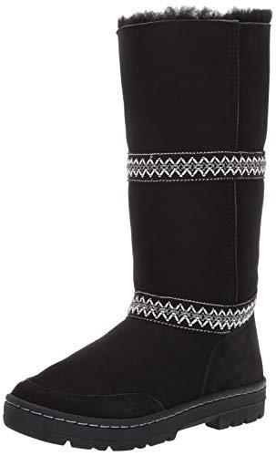 UGG Women's W Sundance Revival Fashion Boot, Black, 8 M US