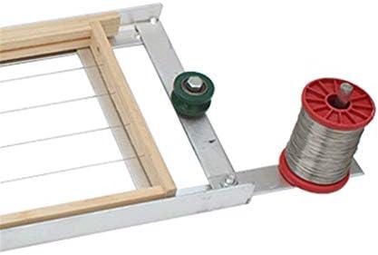 DIYARTS Nestrahmen Wickelmaschine Bienenwerkzeuge Bienenstockrahmen Drahtstraffer Kabelzieher Einfädler Neue Imkerwerkzeuge