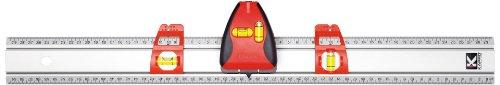 Kapro 814 Pro Laser Set-A-Shelf Set-Match Ruler with Line Laser and Stud Finder, 36-Inch Length