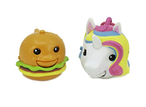 Mojimoto Unicorn and Cheeseburger Repeating Talk-Back Toy That Records & Repeats and Lip-syncs to Music! (Styles May Vary) by Cepia