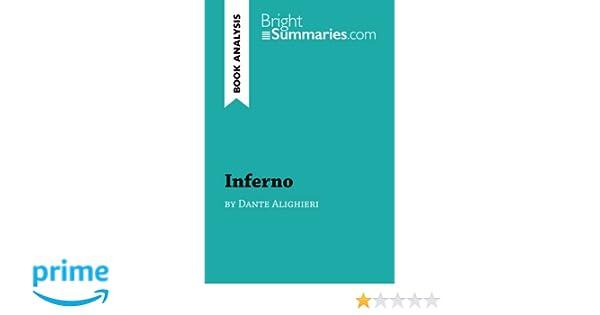 inferno by dante alighieri summary
