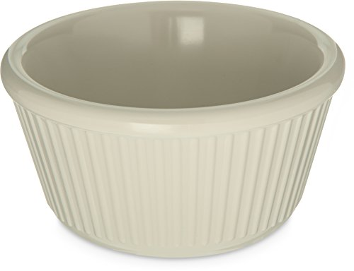 - Carlisle S287-842 Melamine Fluted Ramekin, 4oz. Capacity, Bone (Pack of 12)
