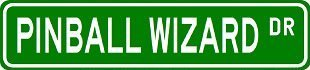 - Teisyouhu Funny Metal Signs Pinball Wizard Garage Home Yard Fence Aluminum Plaque Wall Art