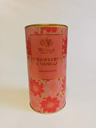 Whittard of Chelsea - Fresa y Vainilla Flavour - Te instantaneo - 450g