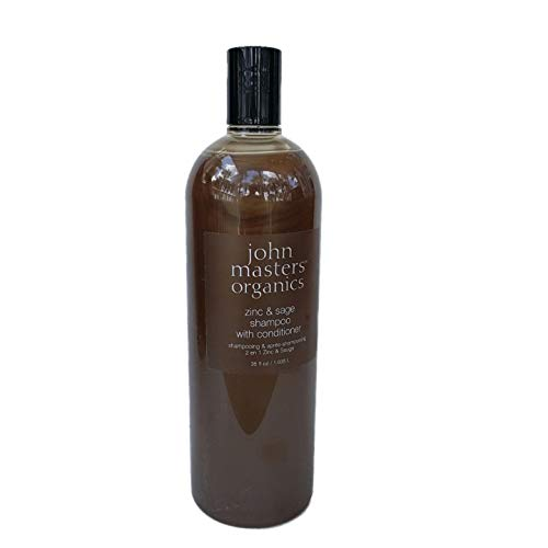 - John Masters Organics Zinc & sage shampoo with conditioner, 35 Ounce