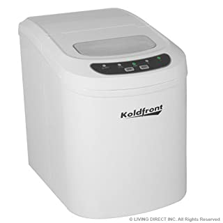 Koldfront Ultra Compact Portable Ice Maker - White (B001AT2ALM) | Amazon price tracker / tracking, Amazon price history charts, Amazon price watches, Amazon price drop alerts