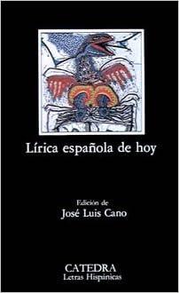 Descargar libros en pdf gratis. Lírica española de hoy (Letras Hispánicas) in Spanish PDF