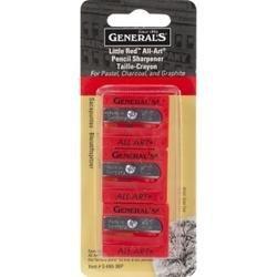Bulk Buy: General Pencil Little Red All Art Sharpeners 3/Pkg S6503BP (6-Pack)