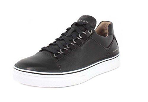 Marque Nason Mens Et Sneaker Coupe-cône Noir