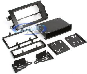 - Metra 99-7954 Single/Double DIN Installation Kit for 2007 Suzuki SX4 Vehicles