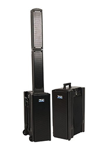 Anchor Audio BEA-8000 Beacon Line Array Speaker with Built-in Bluetooth, 60Hz-15kHz Frequency Response, (Anchor Amplifier)
