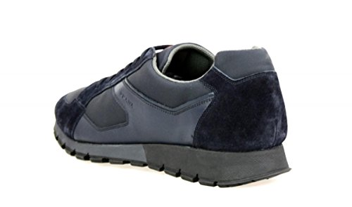 Sneaker In Pelle Prada Mens 4e2932 Zjm F0008