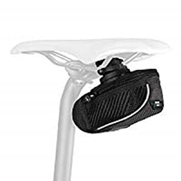 SciCon COMPACT 430 Roller Carbon Bicycle Saddle Bag Under Seat Storage SILVER