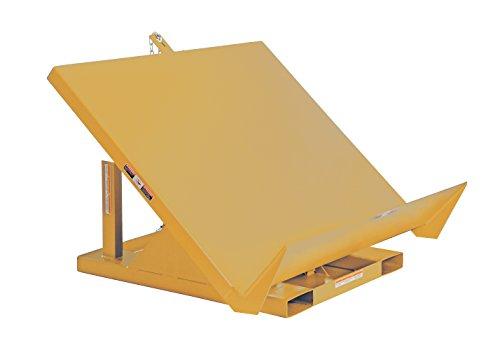 - Vestil EM1-200-4848-4-YEL Efficiency Master Tilt Table, 4000 lb Capacity, 48