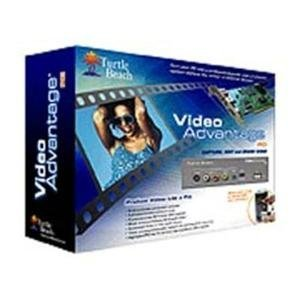Turtle Beach Video Advantage PCI Video Capture Card & Front